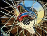 Jaguar Wheel by Lory Lockwood