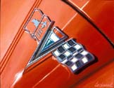 Corvette Logo by Lory Lockwood