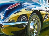 Corvette - Vette on Vette by Lory Lockwood