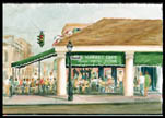 French Market Cafe Print by Peter Briant