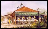 Cafe du Monde print by Peter Briant