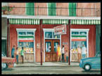 Central Grocery Print by Peter Briant