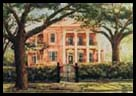 Trinity Mansion Print by Peter Briant