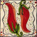 Peppers Tile by PDs Creations