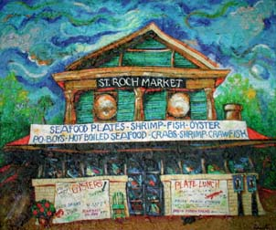 St. Roch Market Print by Richard Lewis